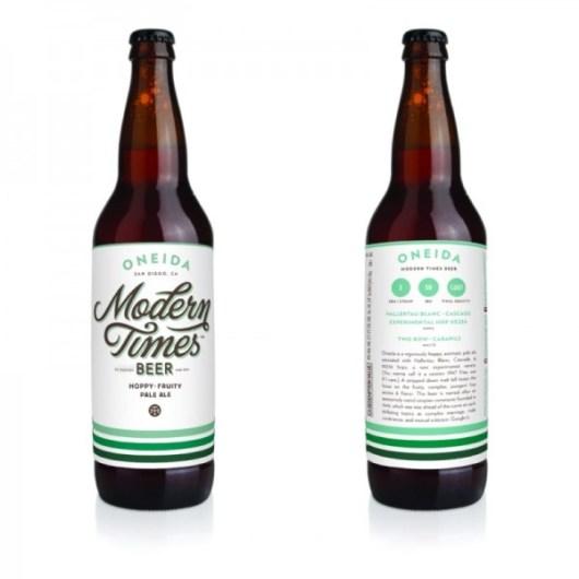Modern Times Oneida Bottles