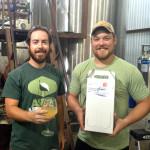Ryan Sansbury and Jeremy Bastian of Logro Farms