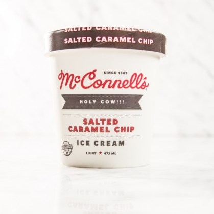McConnell's Fine Ice Creams - Salted Caramel Chip Ice Cream