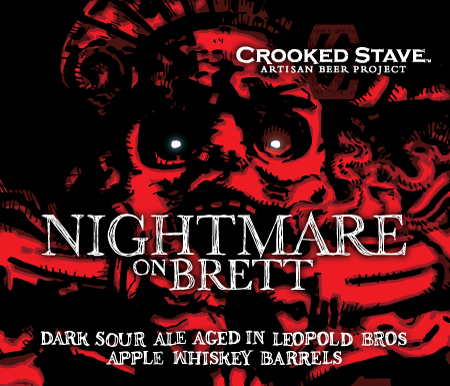 Crooked Stave Nightmare on Brett Apple Whiskey Barrel