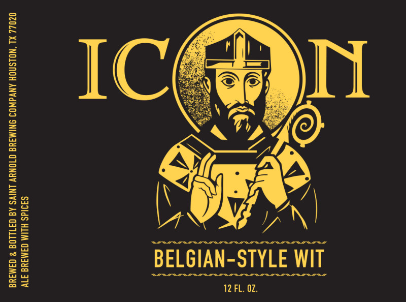 Saint Arnold Icon Gold Belgian Wit