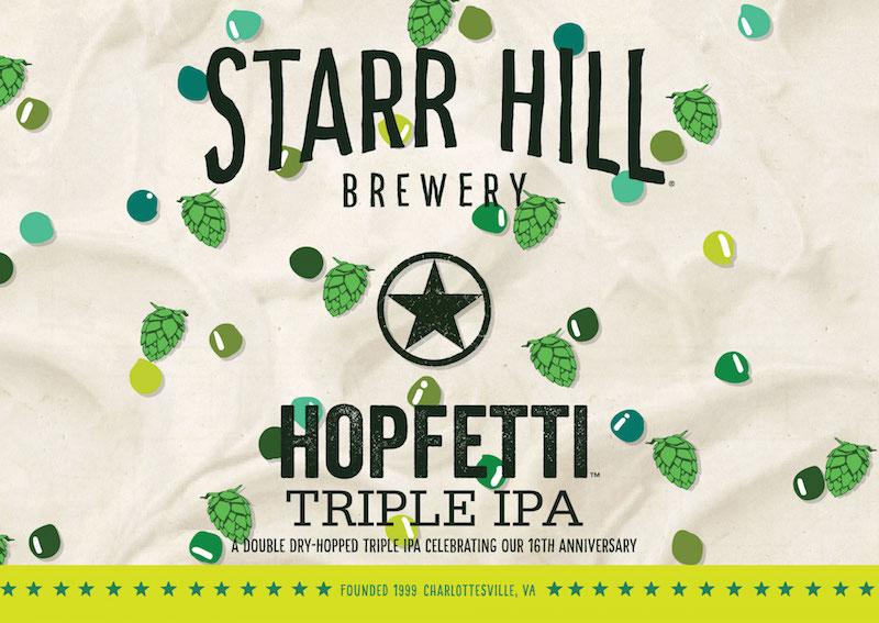 Starr Hill Hopfetti