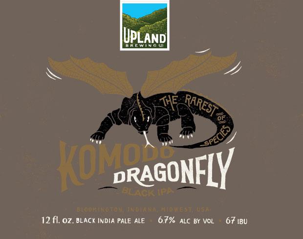 Upland Brewing - Komodo Dragonfly IPA