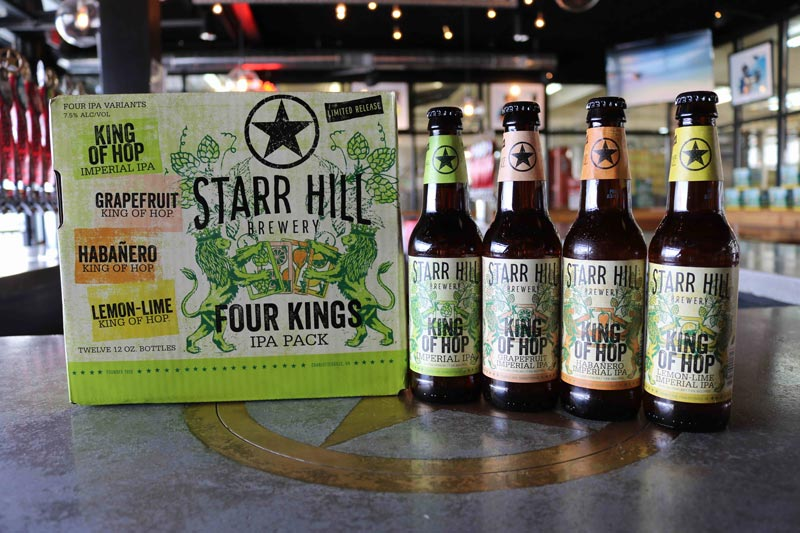 Starr Hill Four Kings IPA Pack