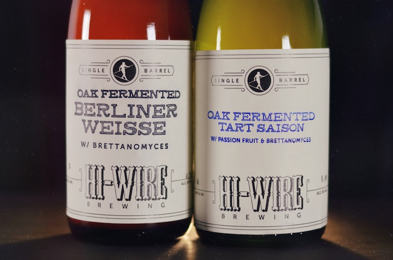 Hi-Wire Brewing Single Barrel Batch 3 and 4 Combo Shot