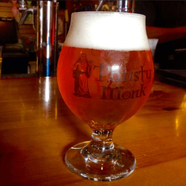 Thirsty Monk Glass