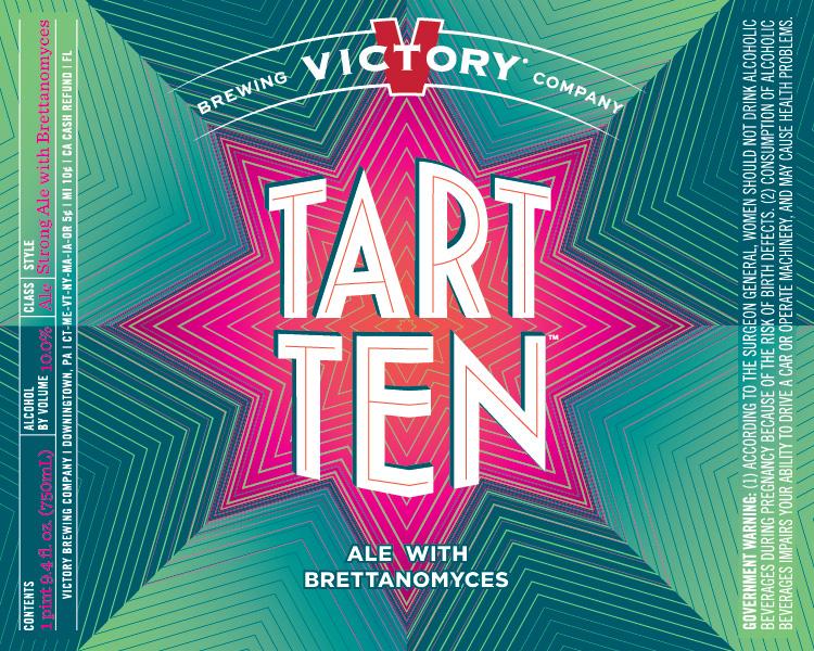 Victory Brewing - Tart Ten (Label)