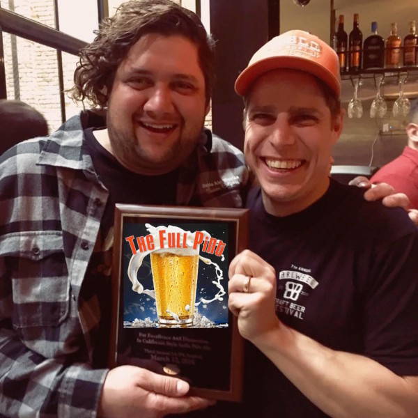 Brad and Evan Noble Ale Works