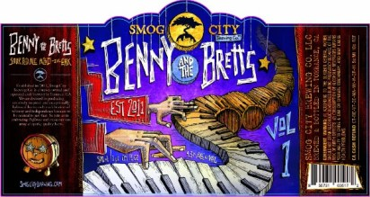 Smog City Brewing Benny and the Bretts