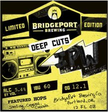 Bridgeport Brewing - Deep Cuts - IPW