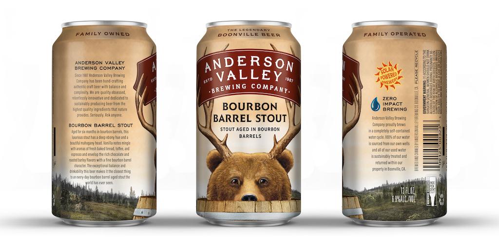 Anderson Valley Bourbon Barrel Stout 2021