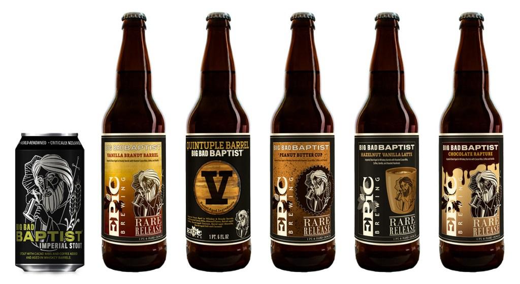 Epic Brewing - Big Bad Baptist Variants 2019