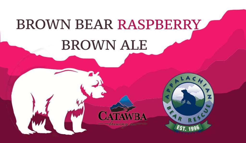 Catawba Brewing - Brown Bear Raspberry Brown Ale