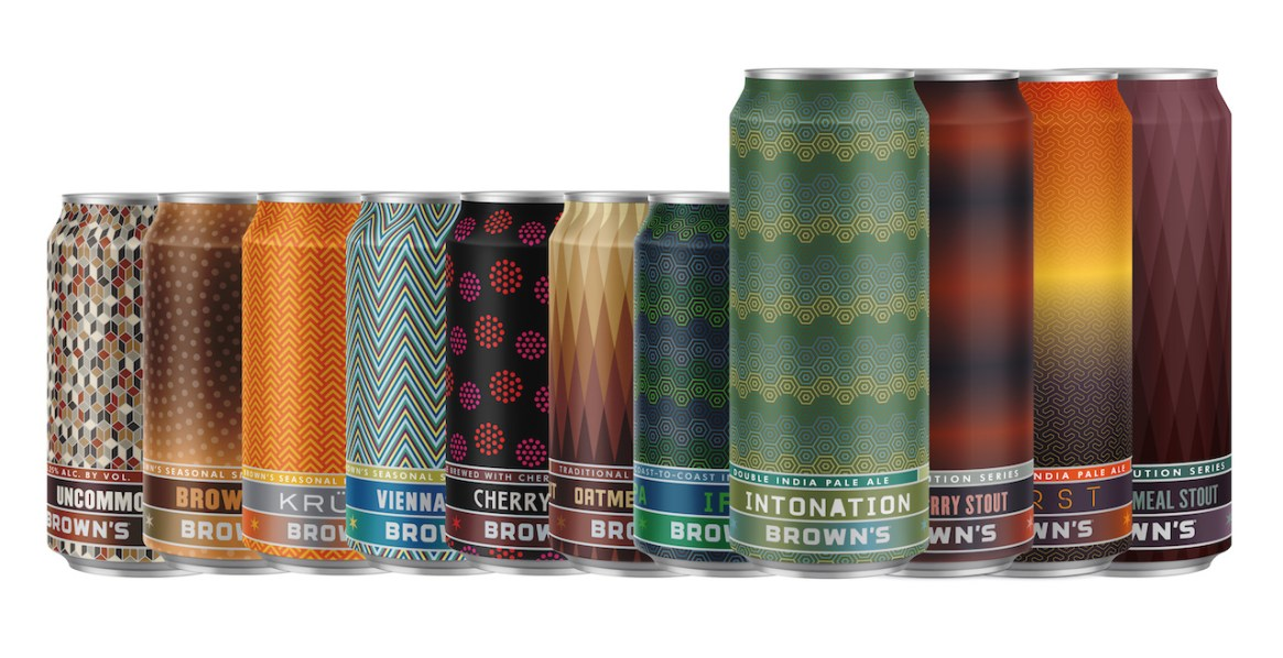 Browns Brewing Cans