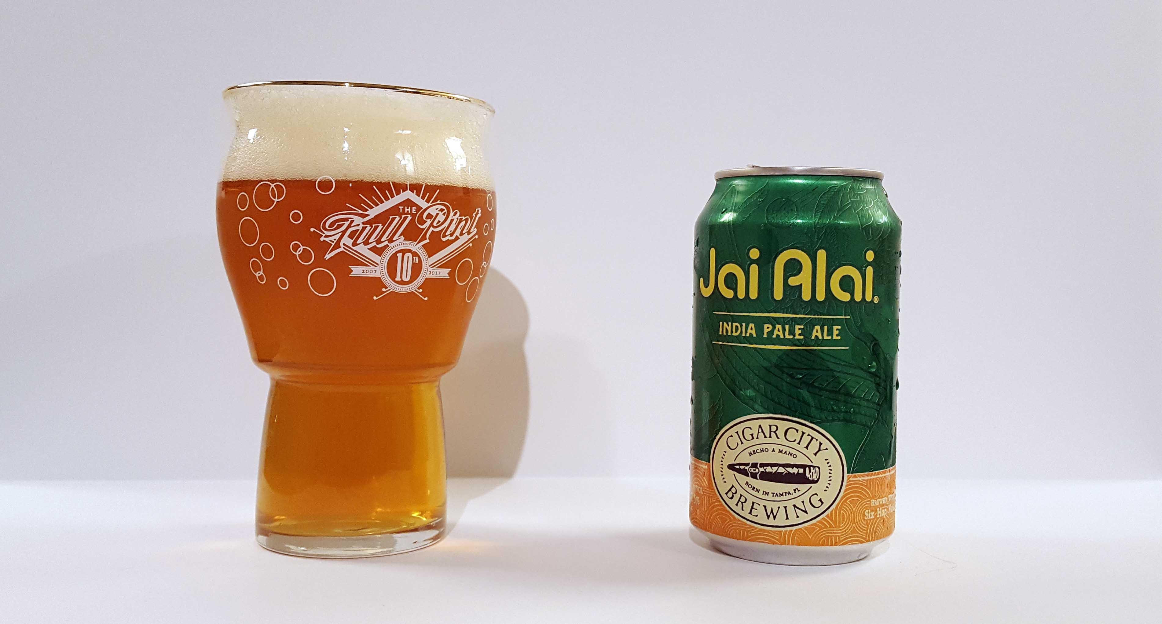 Reviewed Cigar City Jai Alai Thefullpint