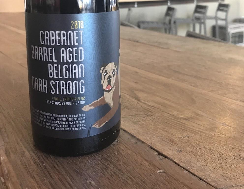 Cabernet Barrel Aged Belgian Dark Strong