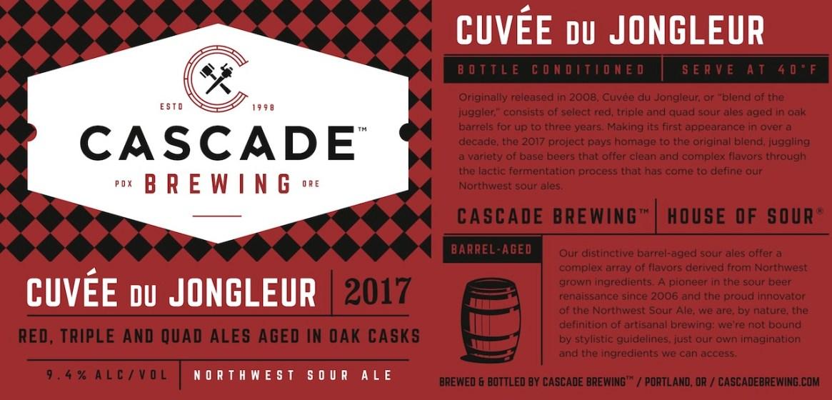 Cascade Cuvee du Jongleur 2017
