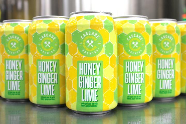 Cascade Honey Ginger Lime