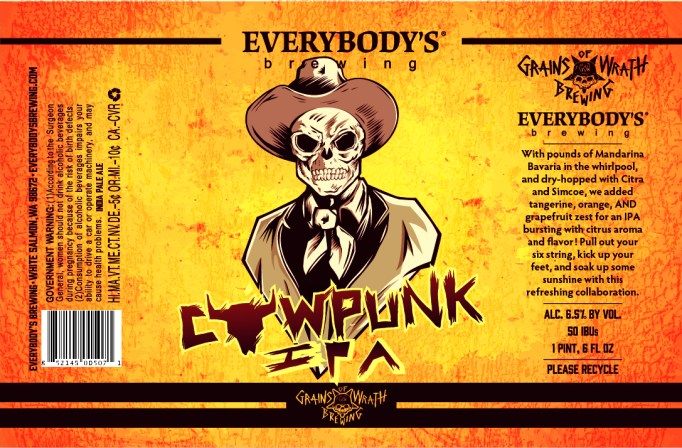 Everybodys Brewing Cow Punk IPA
