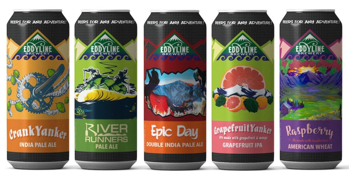 Eddyline Brewing 2018 Cans