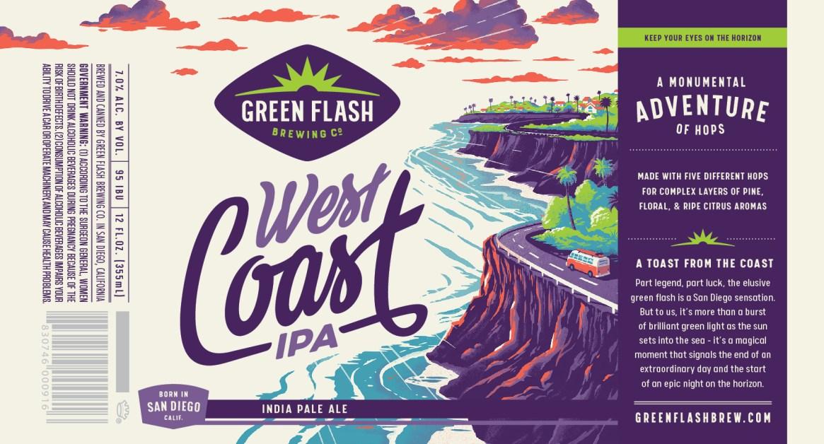 Green Flash West Coast IPA 2019
