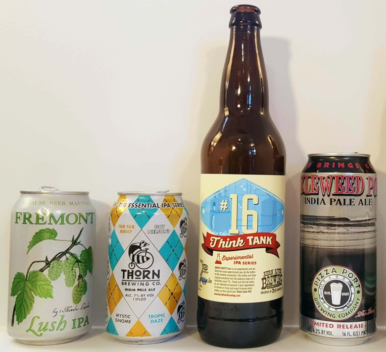 Blind IPA Test: Group 4