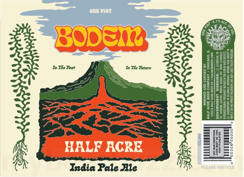Half Acre Beer Co. - Bodem IPA