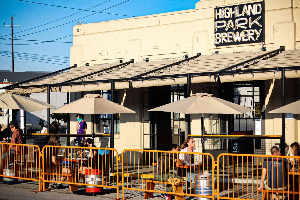 Highland Park Brewery Patio