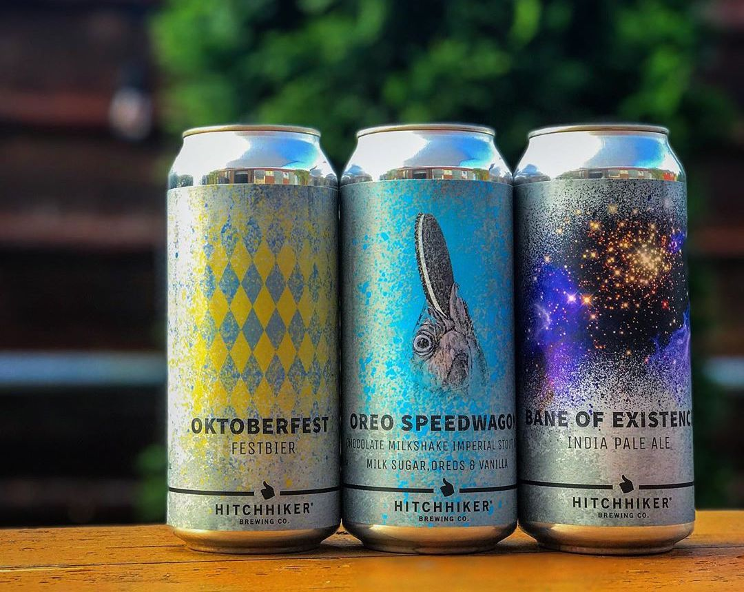 HitchHiker Brewing Can Release