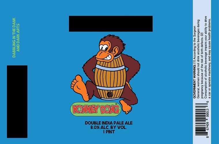 Konkey Dong Label