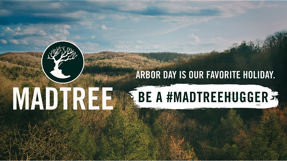 MadTree Brewing - Sustainability Week - Arbor Day 2019