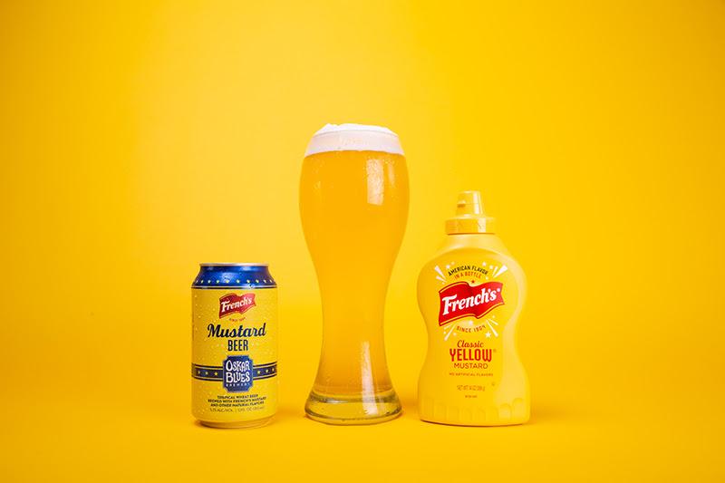 Oskar Blues Frenchs Mustard Beer