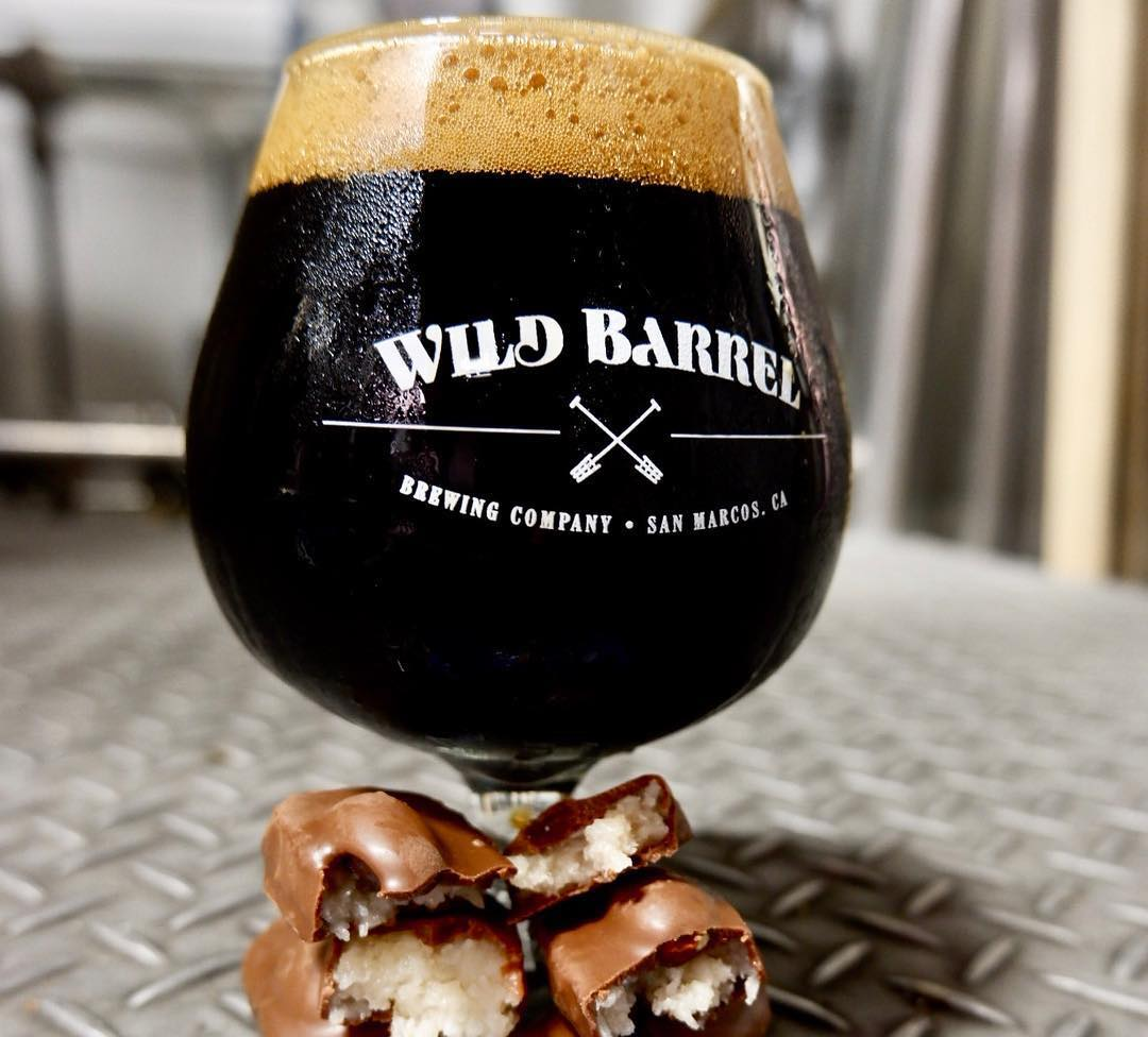 Wild Barrel Brewing Candy and Beer Pairing