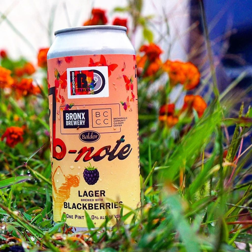 Bronx Brewery & Baldor Specialty Foods - B-Note Blackberry Lager