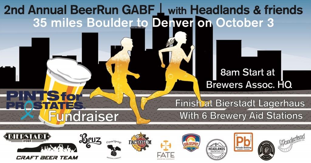 Headlands Brewing & Friends Present - 2nd Annual BeerRun GABF