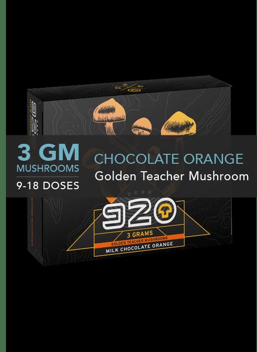 920 MILK CHOCOLATE ORANGE CUBE
