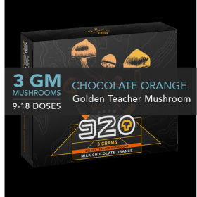 920 MILK CHOCOLATE ORANGE CUBE