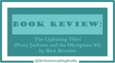 book review - percy jackson #1