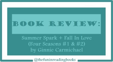book review - summer spark & fall in love