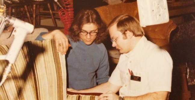 I M An Upholsterer Steve Cone The Funky Little Chair