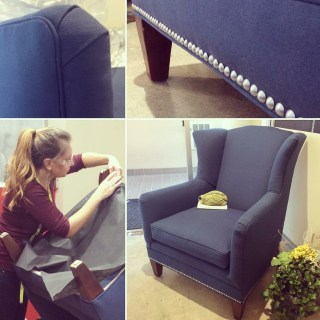 The Somewhat Secret Upholstery Experiment The Funky Little Chair