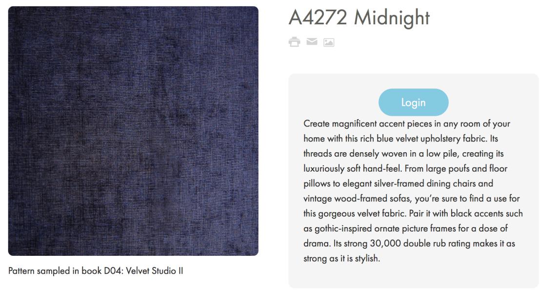A4272 Midnight Greenhouse Fabrics