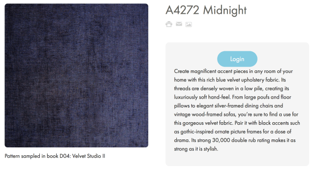A4272 Midnight Greenhouse Fabrics