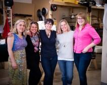 Kim, Heidi, Gabe and Lindsay - members of our 2018 mentorship group.