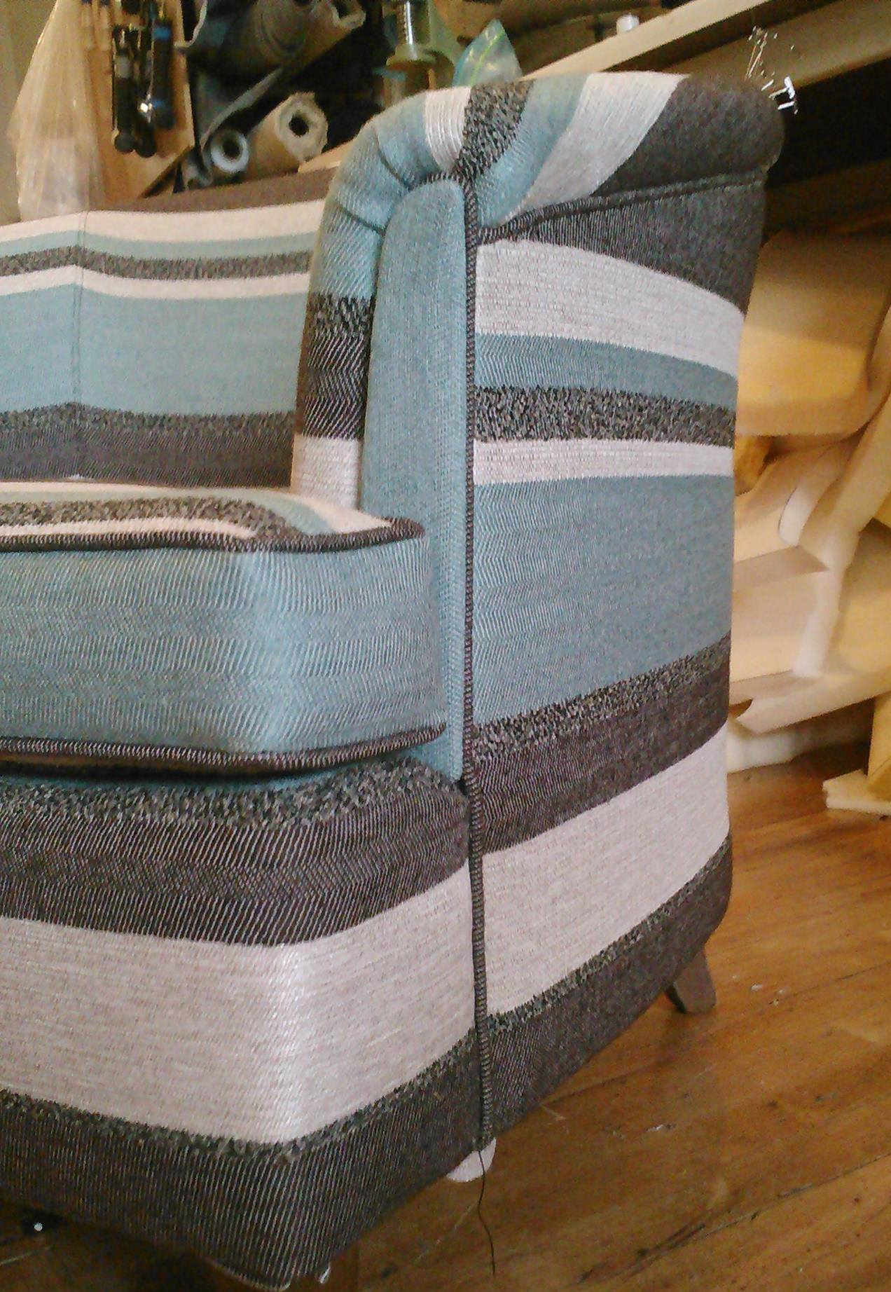 """crypton fabric for sofas dark grey sofa living room ideas """"why is upholstery so expensive???"""" – the funky little chair"""