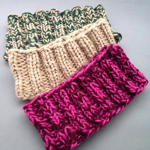 10 Knit Headband Ear Warmer Patterns - The Funky Stitch