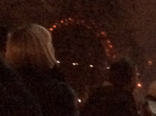 A noisy picture of the London Eye