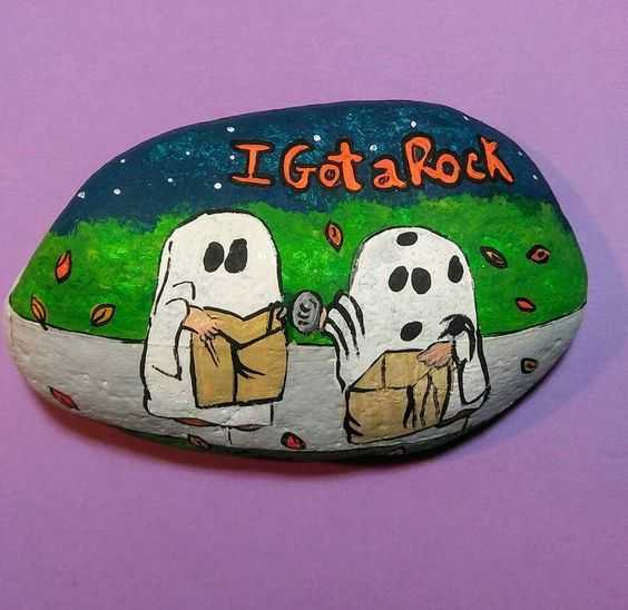 Every item on this page was chosen by a woman's day editor. 34 Rock Painting Ideas For Halloween And Fall Painting Ideas Projects