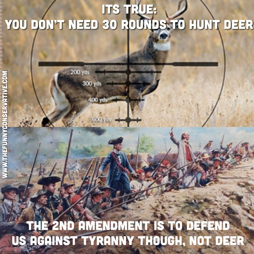 2A Not About Deer