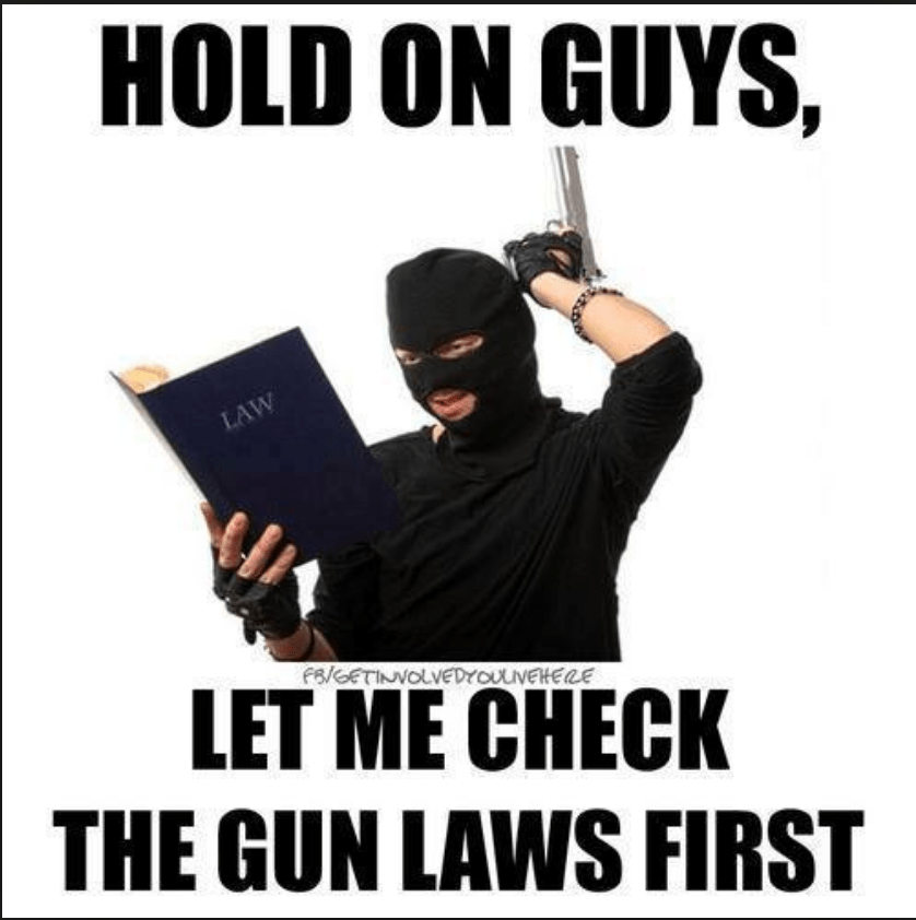 Check the gun laws